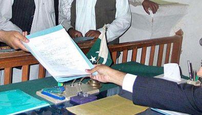 کاغذات نامزدگی جمع کرانے کیلئے سیاسی جماعتوں کا بھر پور طاقت کا مظاہرہ