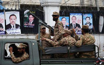 فوج کوالیکشن ڈیوٹی پرمامورنہیں کیاجائیگا،صوبائی حکومت