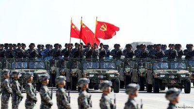 چین بڑی فوجی قوت بن گیا