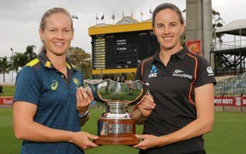 آسٹریلیا اور نیوزی لینڈ ویمنزکے مابین پہلا ون ڈے آج کھیلا جائیگا