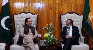 گلگت بلتستان چیف کورٹ اور ضلع عدالتیں پورے پاکستان کیلئے رول ماڈل ہیں گورنر