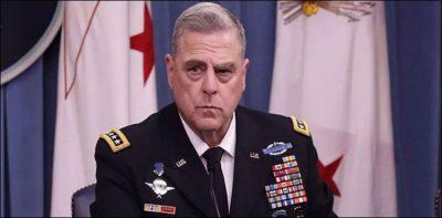 افغانستان سے امریکی افواج کا انخلاء تشدد سے کمی پر مسترد ہے جنرل مارک ملے