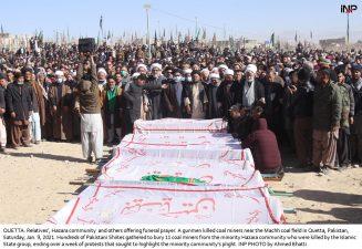 مذاکرات کامیاب مچھ شہداء سپرد خاک نماز جنازہ میں وفاقی و صوبائی وزراء کی شرکت