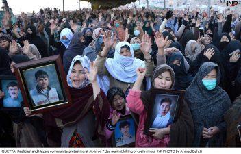 سانحہ مچھ شہداء کمیٹی نے وزیراعظم کا مطالبہ مسترد کردیا دھرنا جاری رکھنے کا اعلان
