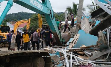 انڈونیشیا میں ہولناک زلزلہ،35افراد جاںبحق