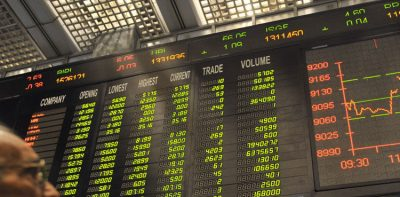 سٹاک مارکیٹ انڈیکس 3 سال کی بلند ترین سطح پر پہنچ گیا،45 ہزار کی نفسیاتی حد بحال