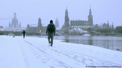جرمنی ،برفانی طوفان کا خدشہ ٹرینیں منسوخ