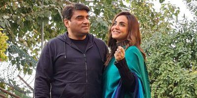 وادی سوات میں نادیہ خان کا شوہر کے ساتھ مالٹے کھانے کا مقابلہ