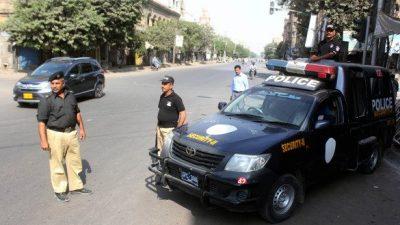 فیصل آباد کمشنر آفس کے مین گیٹ پر تعینات پولیس اہلکار کی مبینہ خود کشی