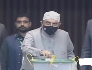 سابق صدر آصف علی زرداری کا بیلٹ پیپر ضائع،ریٹرننگ افسر نے دوبارہ جاری کیا
