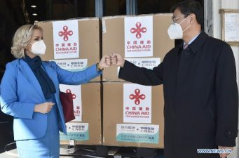 مونٹی نیگرونے چین کی جانب سے عطیہ کردہ نوول کروناوائرس ویکسینز کی پہلی کھیپ وصول کرلی