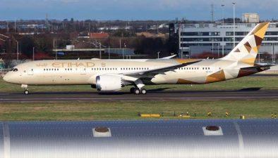 اتحاد ائیر ویز کی ابوظہبی سے اسرائیل کیلئے پہلی باضابطہ پرواز