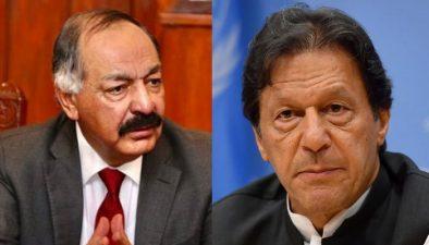 نیا گورنر چاہتا ہوں، آپ مستعفی ہوجائیں، وزیراعظم کا امان اللہ یاسین زئی کو خط