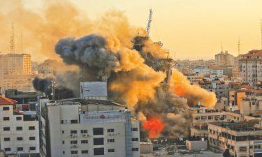 غزہ پر اسرائیلی حملے جاری، مزید 24 فلسطینی جاں بحق، شہدا کی تعداد 212 ہو گئی