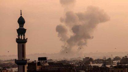 اسرائیل کی غزہ پر وحشیانہ بمباری سے فلسطینی شہدا کی تعداد 24 ہوگئی