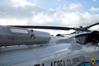 کولمبیا کے صدر ہیلی کاپٹر پر حملے میں بال بال بچ گئے