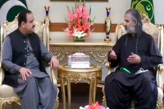 عثمان بزدار سے شاہ زین بگٹی کی ملاقات، سیاسی صورتحال پر تبادلہ خیال