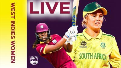 ویسٹ انڈیز اور جنوبی افریقہ ویمنزکے درمیان پہلا ٹی20(آج) کھیلا جائے گا