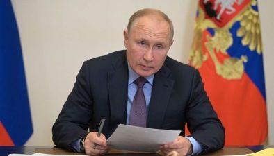 روسی صدر نے عملےکےکورونا ٹیسٹ مثبت آنے پر خود کو قرنطینہ کرلیا