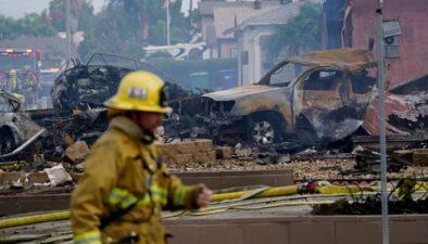 امریکا میں چھوٹا طیارہ رہائشی علاقے میں گر کر تباہ، 2 افراد ہلاک